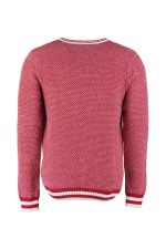 Trendyol Red Men Cycling Collar Sweater TMNAW20FT0005