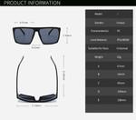 2018 Newest Square Classic Sunglasses men Brand Hot Selling Sun Glasses Vintage Oculos UV400 Oculos de sol