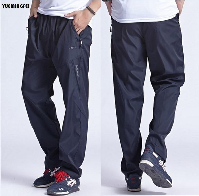 Men's Sportswear Sweatpants Outdoors Quickly Dry Breathable casual Working Exercise Pants Outside Joggers Trousers For Men L-3xl