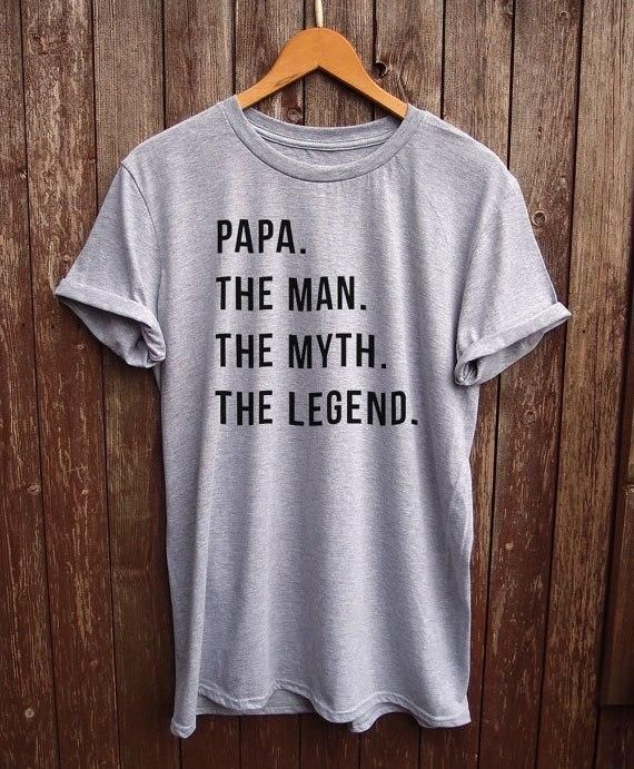 Funny Papa Shirt - dad gifts, gifts for dad, funny dad tshirt, papa tshirt gifts for papa grandpa gift More Size and Colors-B088