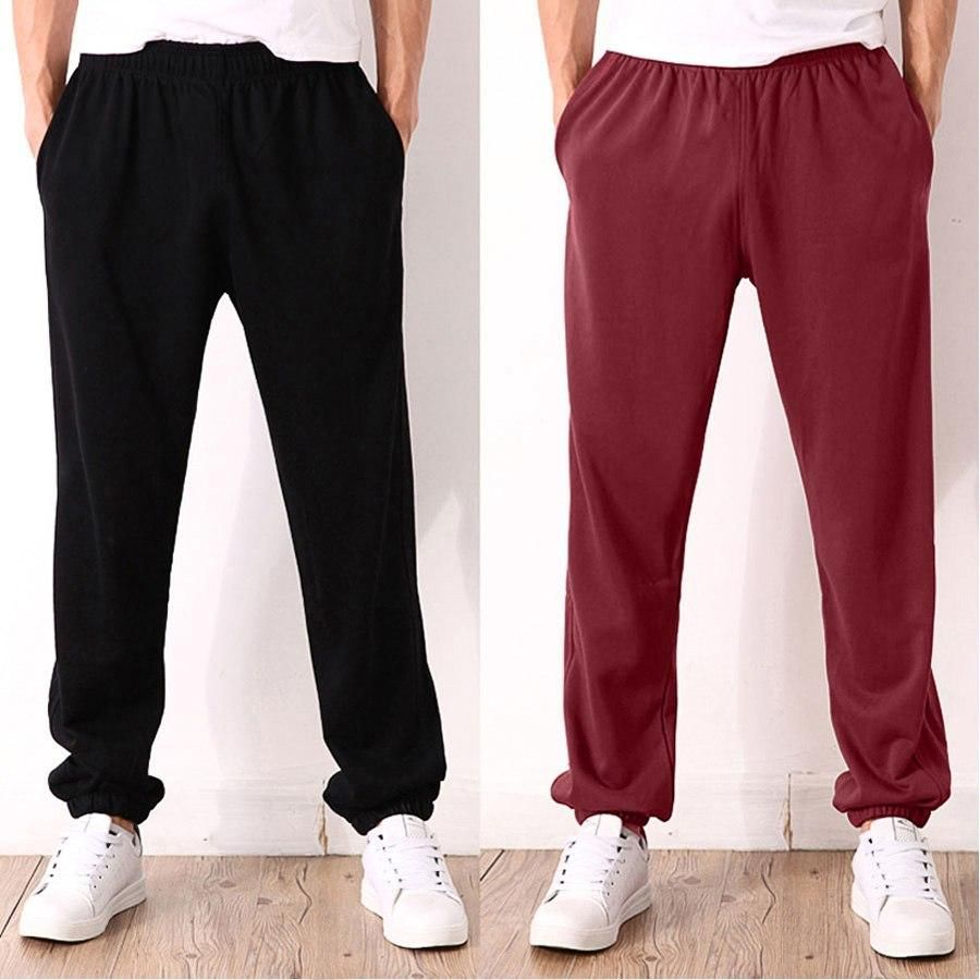 Men Big Size Sweatpants Spring Autumn Elastic Narrow Feet Pencil Pants Loose Plus Size Casual Cotton Jogger Trousers 5XL 6XL 7XL