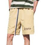 Casual Middle Waist Short Pants Belts Crotch