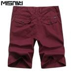 Summer Casual Shorts Men Casual Slim Fit Cotton Shorts