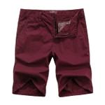 Summer Casual Shorts Men Casual Slim Fit Cotton Shorts