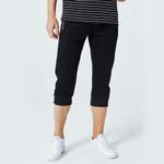 Men Calf Length Pants Casual Elastic Bodybuilding Fitness Workout Pants skinny Sweatpants 3/4 Trousers Jogger Pants Zipper