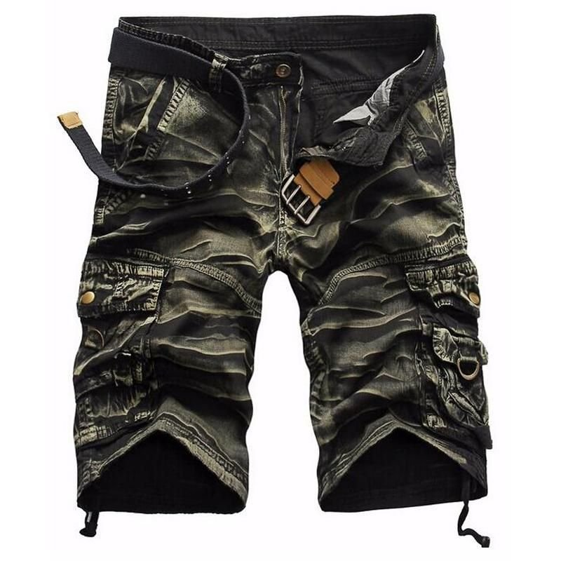 Fashion Men's Bermuda Short Men Cargo Shorts