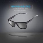 Square Shades Goggles Polarized Sunglasses