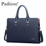 Genuine Leather Men Laptop Bag Briefcase Fashion Men's Business Bags Casual Leather Messenger Bag for Men