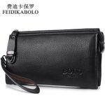 Famous Men Wallet Luxury Long Clutch Handy Bag Moneder Male Leather Purse Men's Clutch Bags carteira Masculina