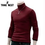 New Arrival Men Full Sweater Popular Causal Solid Men Turtleneck Sweater Necessary Pullovers