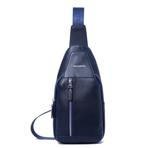Genuine Cow Leather Sling Chest Bags
