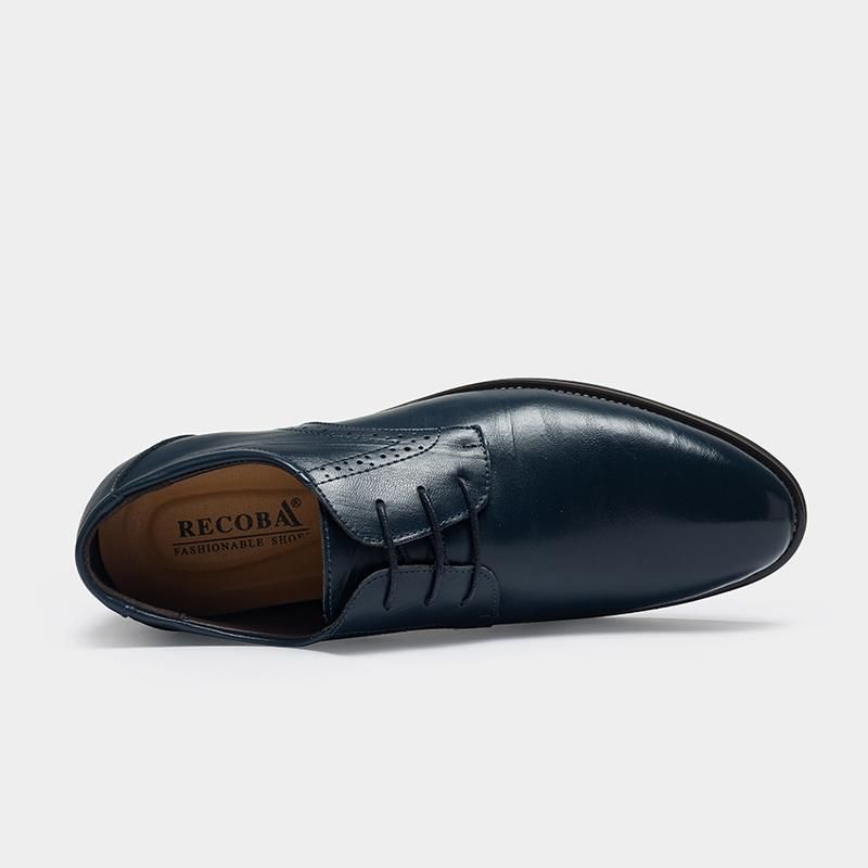 Lace up Leather Formal Oxford Shoes