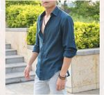Hawaii Style Ultra Thin Cotton Linen Casual Shirts