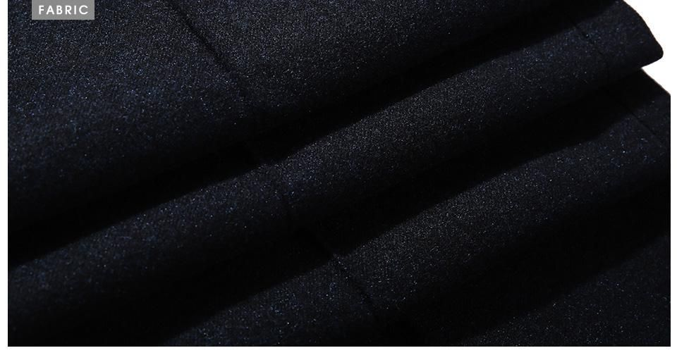 Winter Linen Breathable Slim Fitted Suit Pants