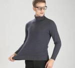 Thick Warm Wool Turtleneck Sweater