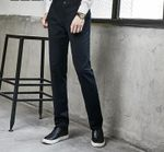Casual Slim Straight Cotton Pants