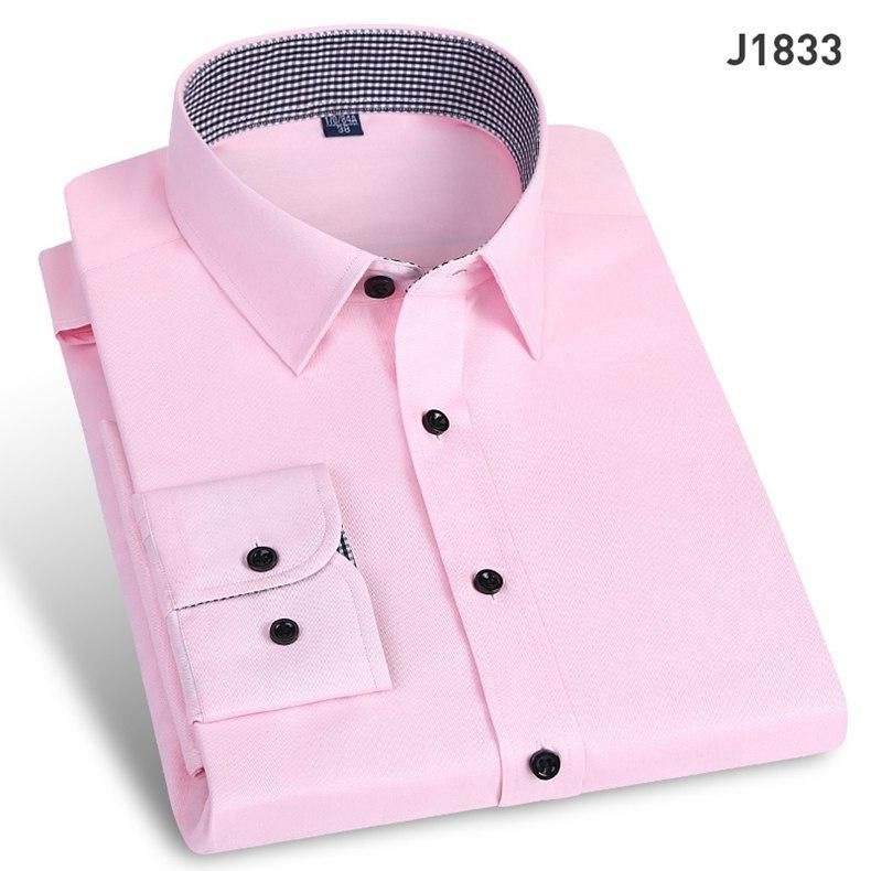 Long Sleeve Turn-down Collar Cotton Shirts