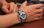 Luxury Full Steel Waterproof Wristwatch