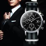 Sports Chronograph Men Wrist Watches Strap Nylon Watchband Luxury Military Males Geneva Quartz Clock James Bond