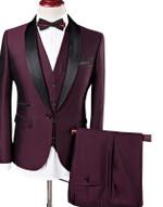 Shawl Collar Slim Fit Tuxedo Suit