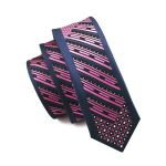 Men Ties Silk Skinny Ties For Men Narrow Slim Tie Novelty Purple Necktie