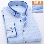 Stylish Long Sleeve Patchwork Button-up Shirts