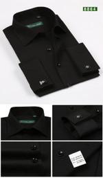 Cuff links Long Sleeve Formal Office Shirts