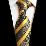 Paisley Jacquard Woven Silk Ties