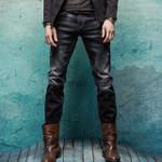 Straight Slim Fit Denim Jeans