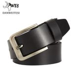 Genuine Alloy Buckle cow skin man belt Luxury man belts genuine leather belt Men casual waist belt for men
