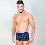 Men Underwear Boxer Shorts Trunks Modal Basic Soft High Rise Elastic Boxers Gay Pouch