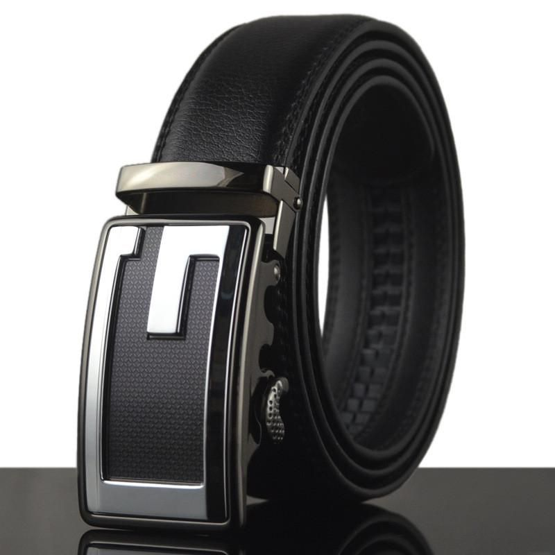 Double G High Quality Buckle Genuine Designer Leather Belts