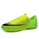 Lace up Waterproof PU Football Shoes