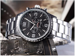 Luxury Stainless Quartz Water Resistant Wristwatches