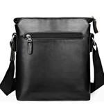 Fashion Leather Men's Messenger Bags Portfolio Office Men Bag, Quality Travel Shoulder Bag Handbag for Man