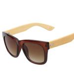 Wood Sunglasses Glasses Style Women Men's Bamboo Eyeware Square Gradient  Sunglass