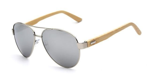 Classic Retro Polycarbonate Mirror Sunglasses