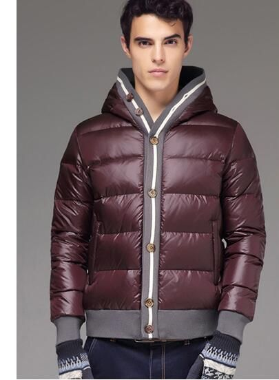 New Fashion Men Thick Down Jackets  Clothing Men's Casual Down Coats Male Fashion Winter Outerwear