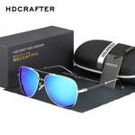 Driving Eyewear Sun Glasses Fashion Men's Sunglasses for Men with Case Box