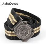 Tactical Belt for Men Canvas High Quality Strap Army Military Equipment Belts Male