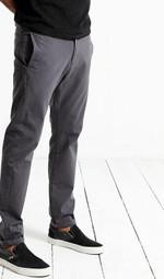 New autumn winter pants men  causal trousers cotton fashion black length