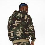 new fashion camouflage oversize hoodies Men Casual streetwear hiphop high quality sweatshirts men fleece