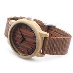 Mens Luxury Top  Design Watch Men Wood Wristwatches Designer Watches Luxury Bamboo Watch Gift Box Accept