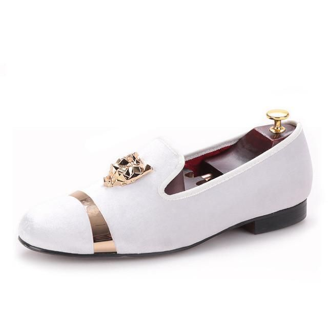 Party and Wedding Handmade Velvet Shoes
