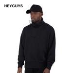 street wear sweatshirts hoodies men hip hop fashion men clothing France hip hop kanye suit stand-up collar