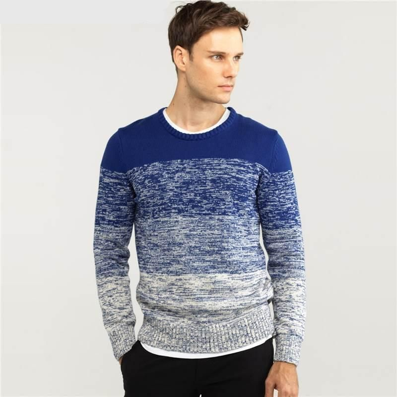 Casual Gradient Pullover