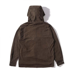 Fashion Men brown hooides warm high street Hip Hop Streetwear pure zipper wear men fleece designer winter