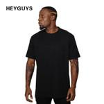 pocket t shirts men hiphop street wear before short oversize compression shirt men t-shirt fitness men