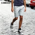 New Summer Mens Shorts Casual Men's Shorts Fashion Cotton Knee Length Plus Size