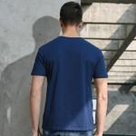New short T-shirt men clothing fashion letter printed T shirt male top quality 100% cotton Tshirt